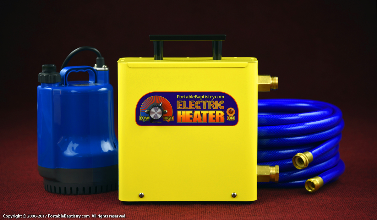 Baptistry Heater For Heating Church Baptistries And